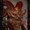 Демон – строение червя