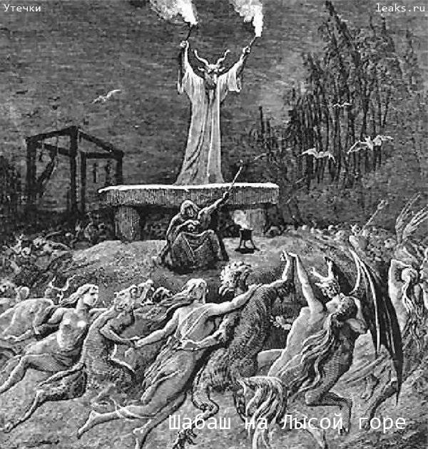 Лысая гора - реально существовавший центр оккультизма