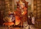 Золотой трон царя Гороха